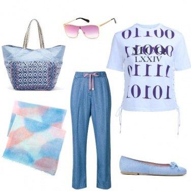 Outfit Sfumature rosate
