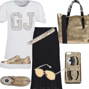Outfit Gold&Rock