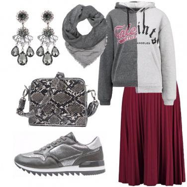 Outfit Argento splendente