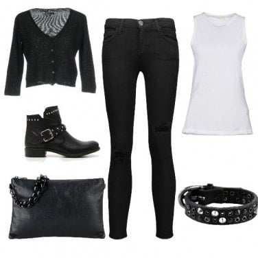 Outfit Simple Rock