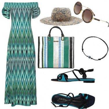 Outfit Etnico, vacanze in Costa Azzurra