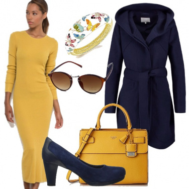 Outfit Outfit autunnale dai colori moda