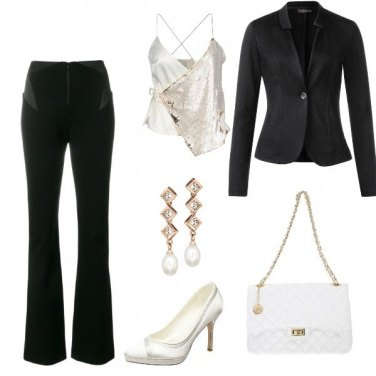 Outfit Perla in nero