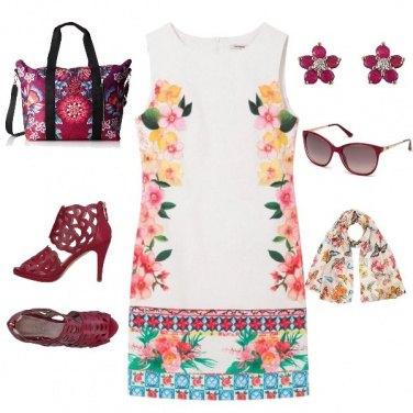 Outfit Regina di fiori