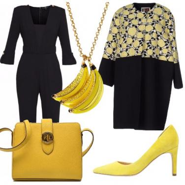 Outfit Giallo banana