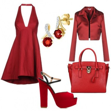 Outfit The woman in red
