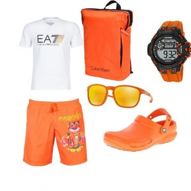 Outfit Peter pan al mare