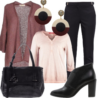 Outfit Un roseo autunno