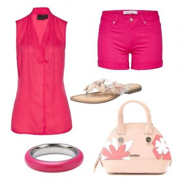 Outfit CMPS In fucsia