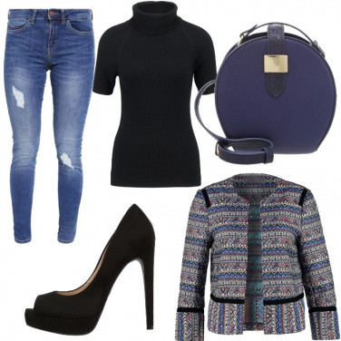 Outfit Semplice, ma d\'effetto