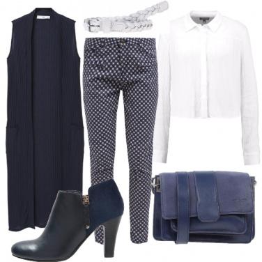 Outfit L\'eleganza del navy