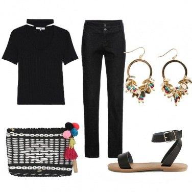 Outfit CMPS Nero per caso