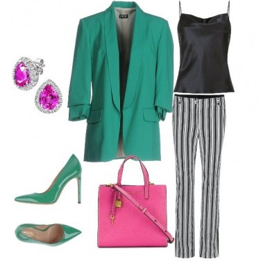 Outfit Green office