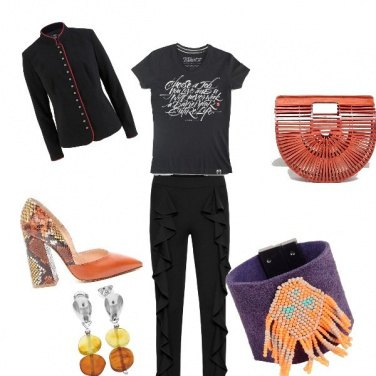 Outfit Rock glam