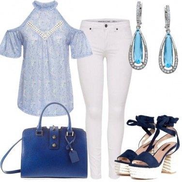 Outfit Romantica con i pantaloni