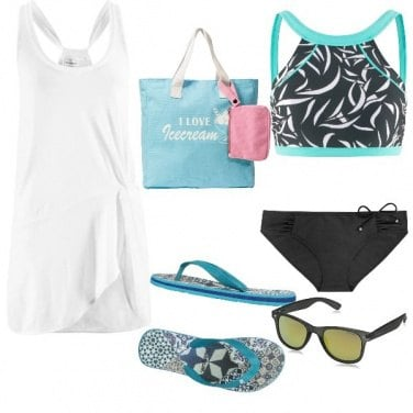 Outfit Total look, Beach on the Beach