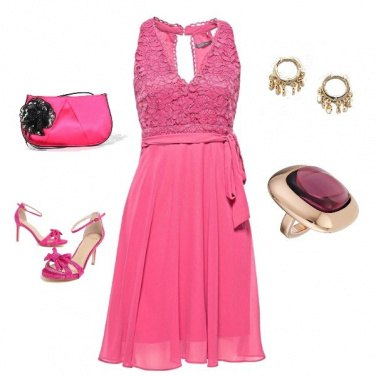 Outfit Disco rose