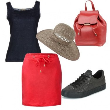 Outfit Lo zaino