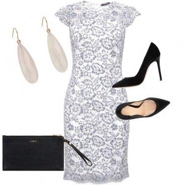 Outfit Bianco e nero top