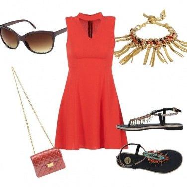 Outfit II rosso....che passione