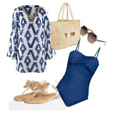 Outfit Eleganza da spiaggia
