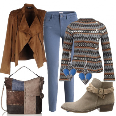 Outfit Passeggiata al maneggio
