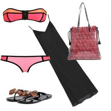 Outfit Infradito per il mare