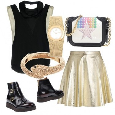 Outfit Fashion rock