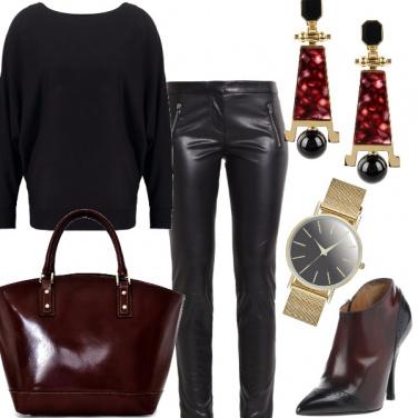 Outfit Nero e rock