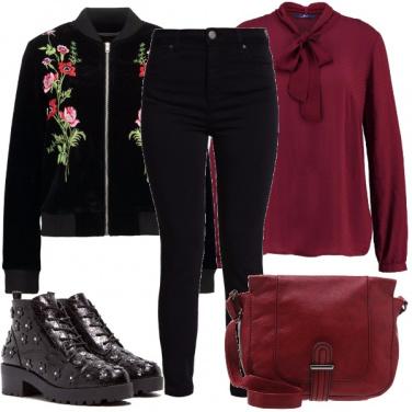 Outfit Comodo e romantico