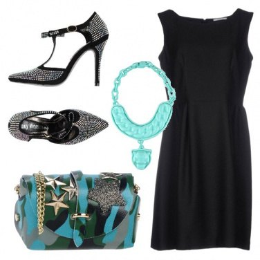 Outfit Tracolla rock