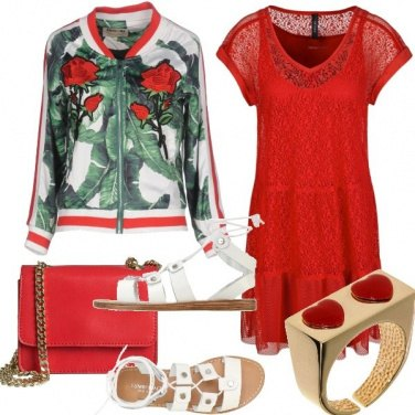 Outfit Urban red passion