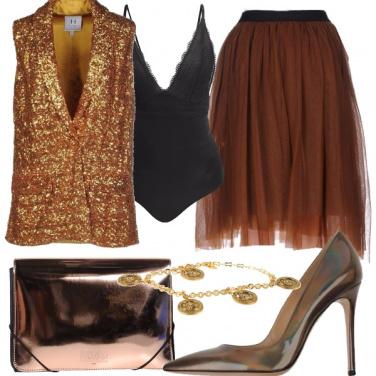 Outfit Bronzata