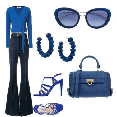 Outfit Blue and denim