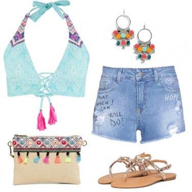 Outfit Spiaggia con brio