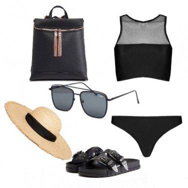Outfit Nero al sole