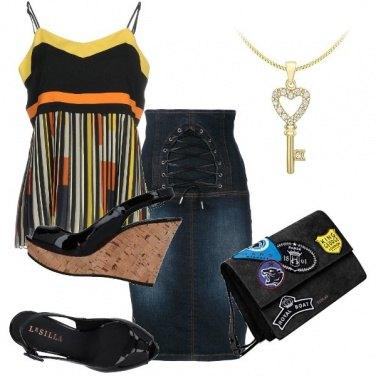 Outfit Jeans e colori