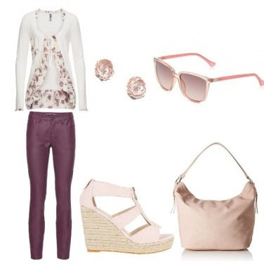 Outfit Note rosa