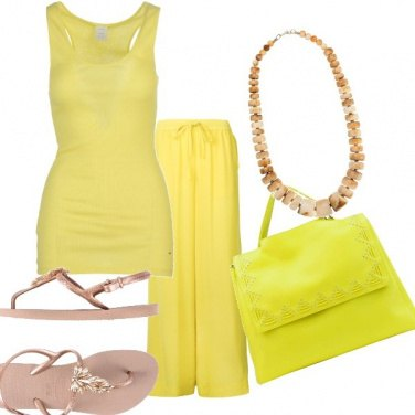 Outfit Color limone