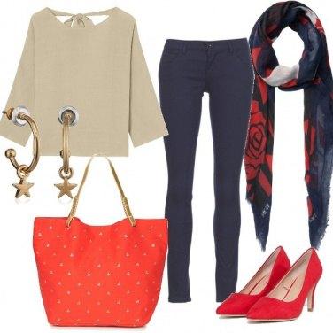 Outfit Semplice e professionale