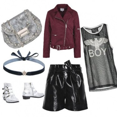 Outfit Rock baby