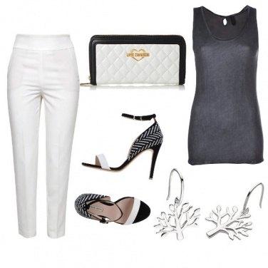 Outfit CMPS Bianco ottico