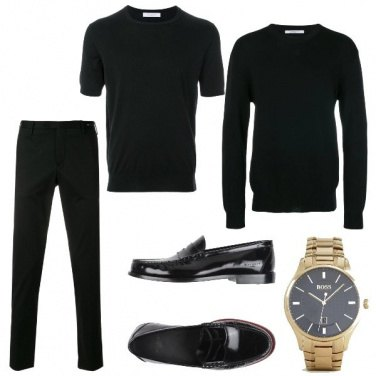 Outfit Man in black