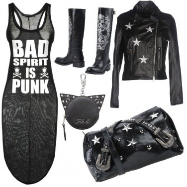 Outfit Style Rock