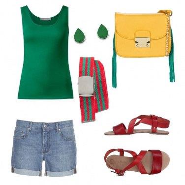 Outfit In giro nella città turistica