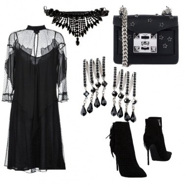 Outfit Stasera sono rock