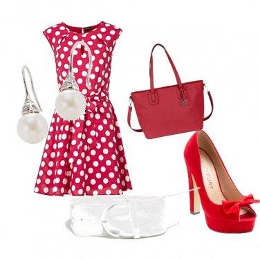 Outfit Adorati pois