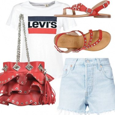 Outfit Levi's style