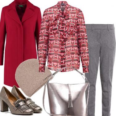 Outfit Rosso di sera e non solo