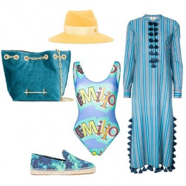 Outfit Sfumature marine